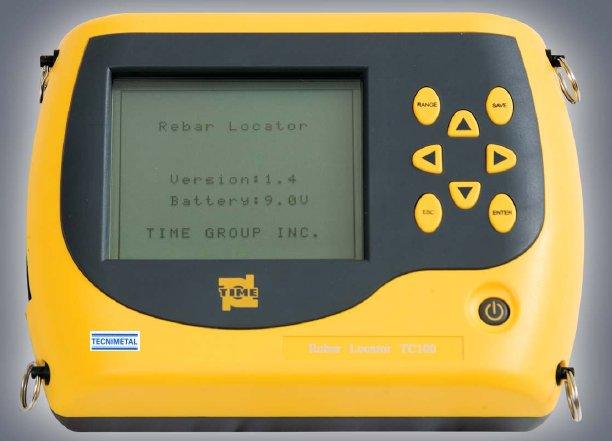 Medidor de espesores en hormigon TC100 pachometro