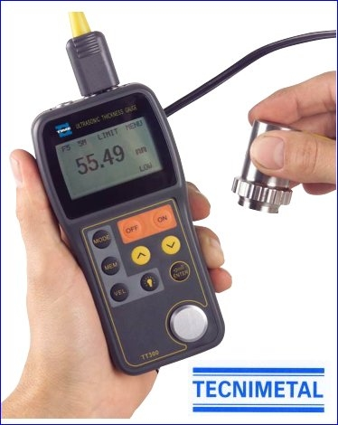 Medidor de espesores ultrasonido TT300